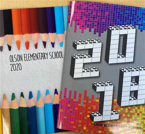 Olson yearbooks on sale now!