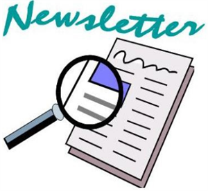 Graphics image of a newsletter
