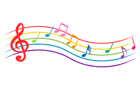 Clipart image of musical notes