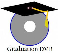 Image of a DVD and mortar board