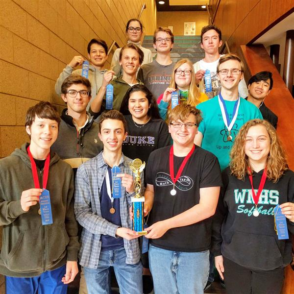 WNHS Academic Team photo