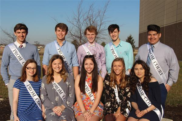 WNHS 2018 Prom Court