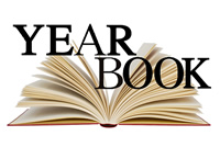 Image of an open yearbook