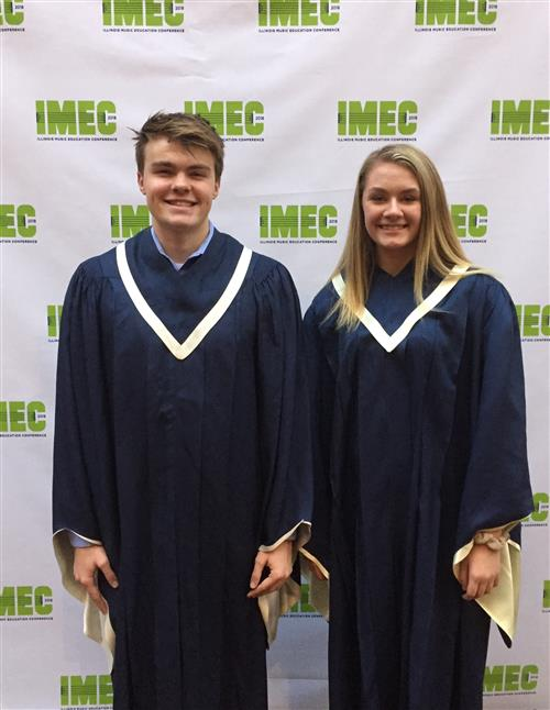 Two WHS singers perform with All-State choirs