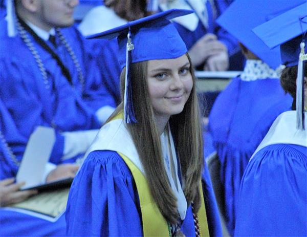 Photo of WHS Valedictorian Madeline Scolio
