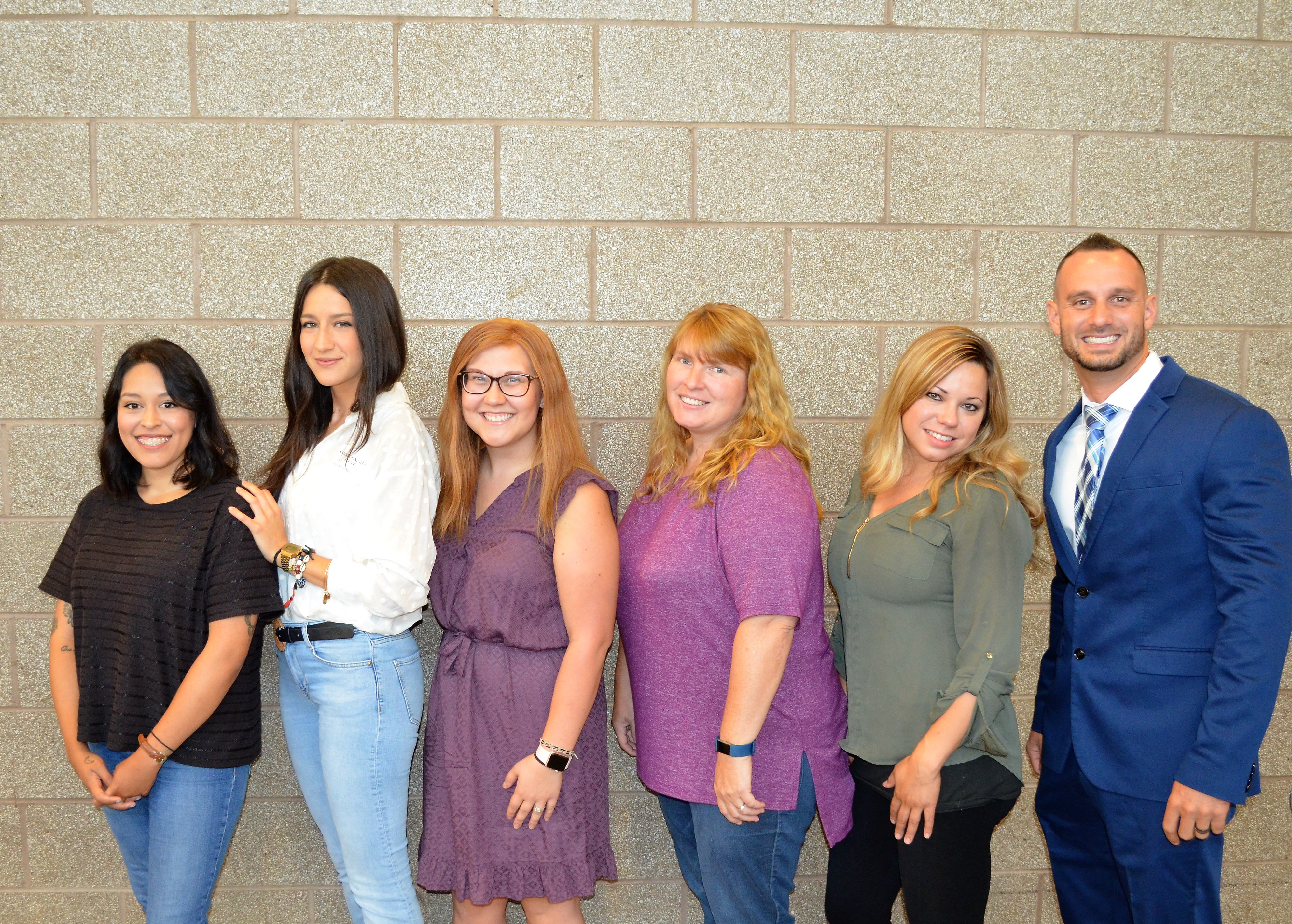 New staff at Dean Street Elementary