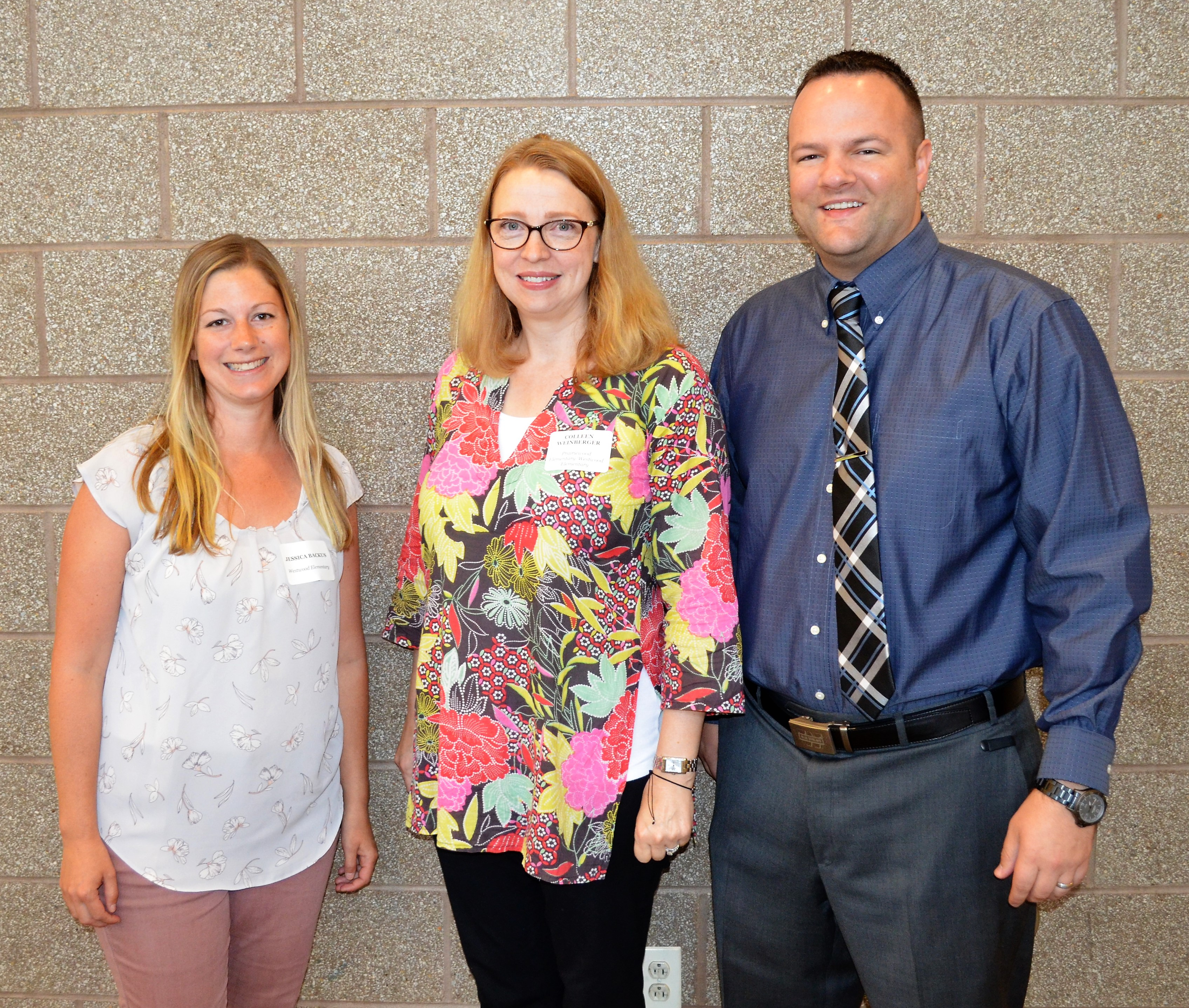 New staff at Westwood Elementary
