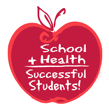 Clipart image: School + Health = Successful Students