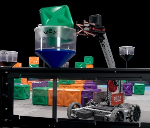 Image from a VEX Robotics competition