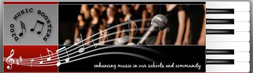 Music Boosters Logo Page Header