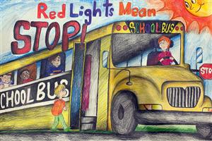 Image of School Bus Safety Week poster