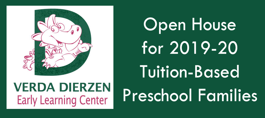 Image of VDELC logo and wording to announce PreK Open House
