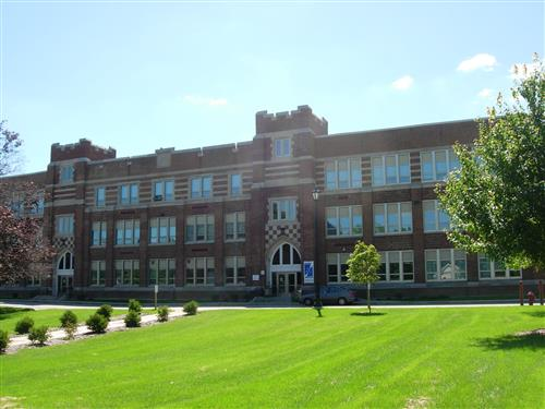 Exterior shot of WHS