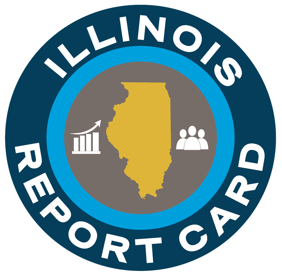 Illinois Report Card logo