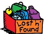 Clip art image of a Lost and Found box