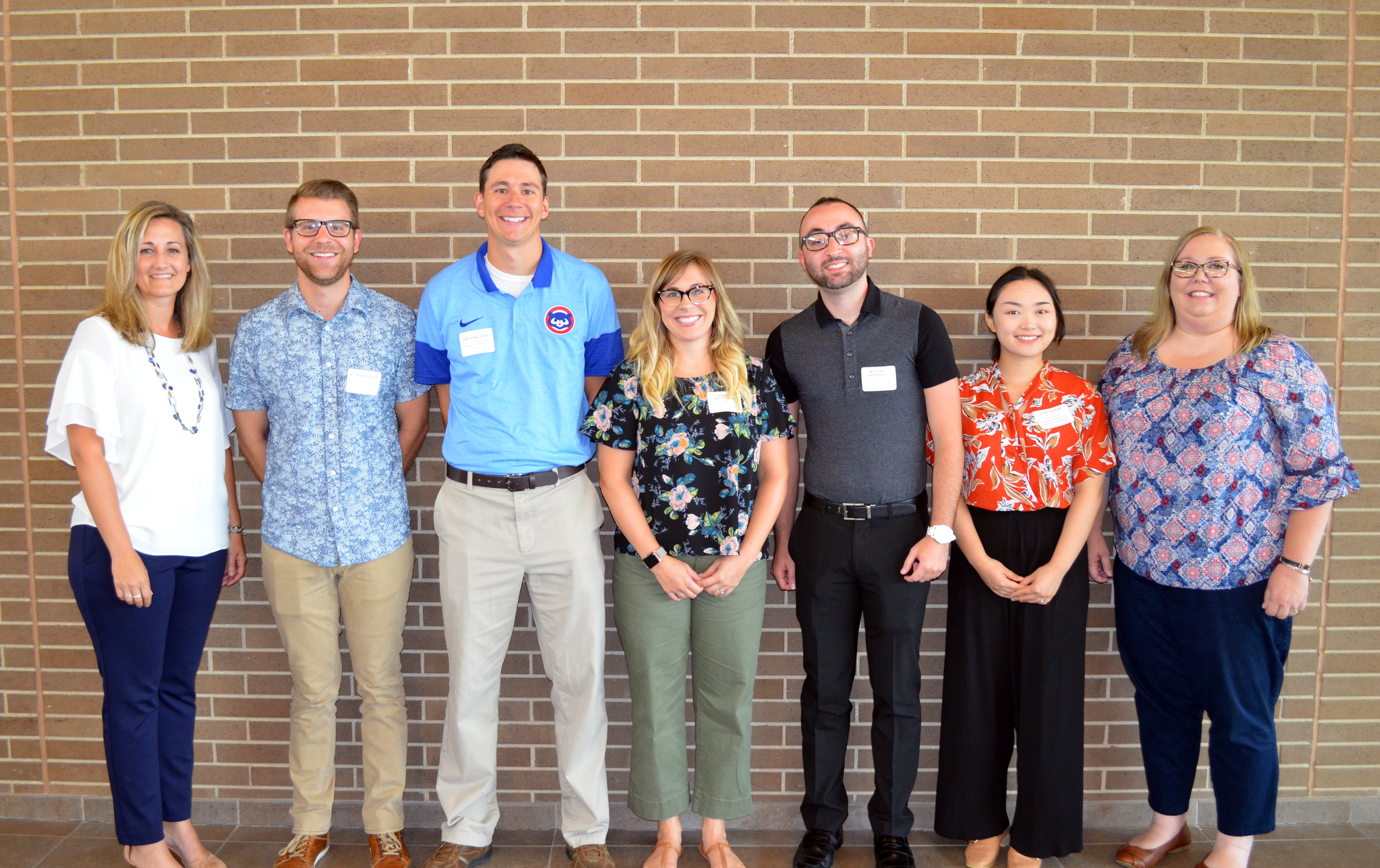 New staff at NWMS